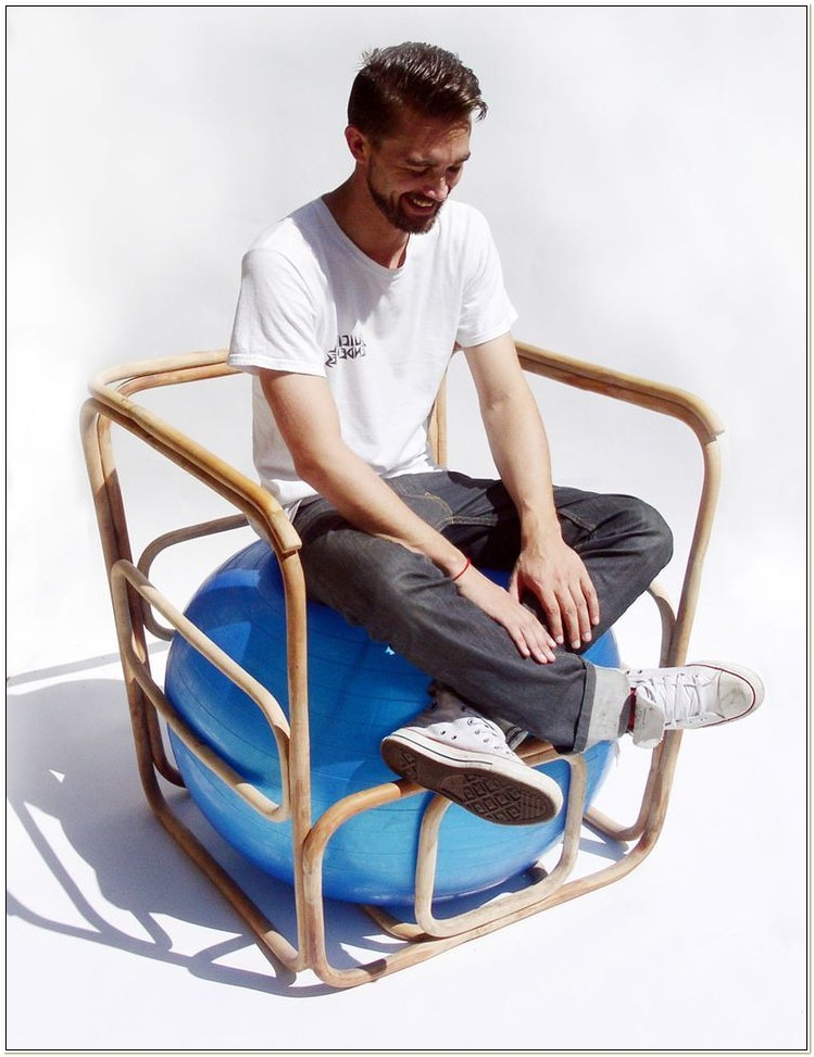 Balance Ball Chair And Cover Kit