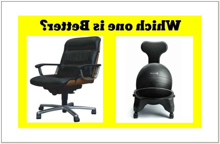 Balance Ball Chair Posture