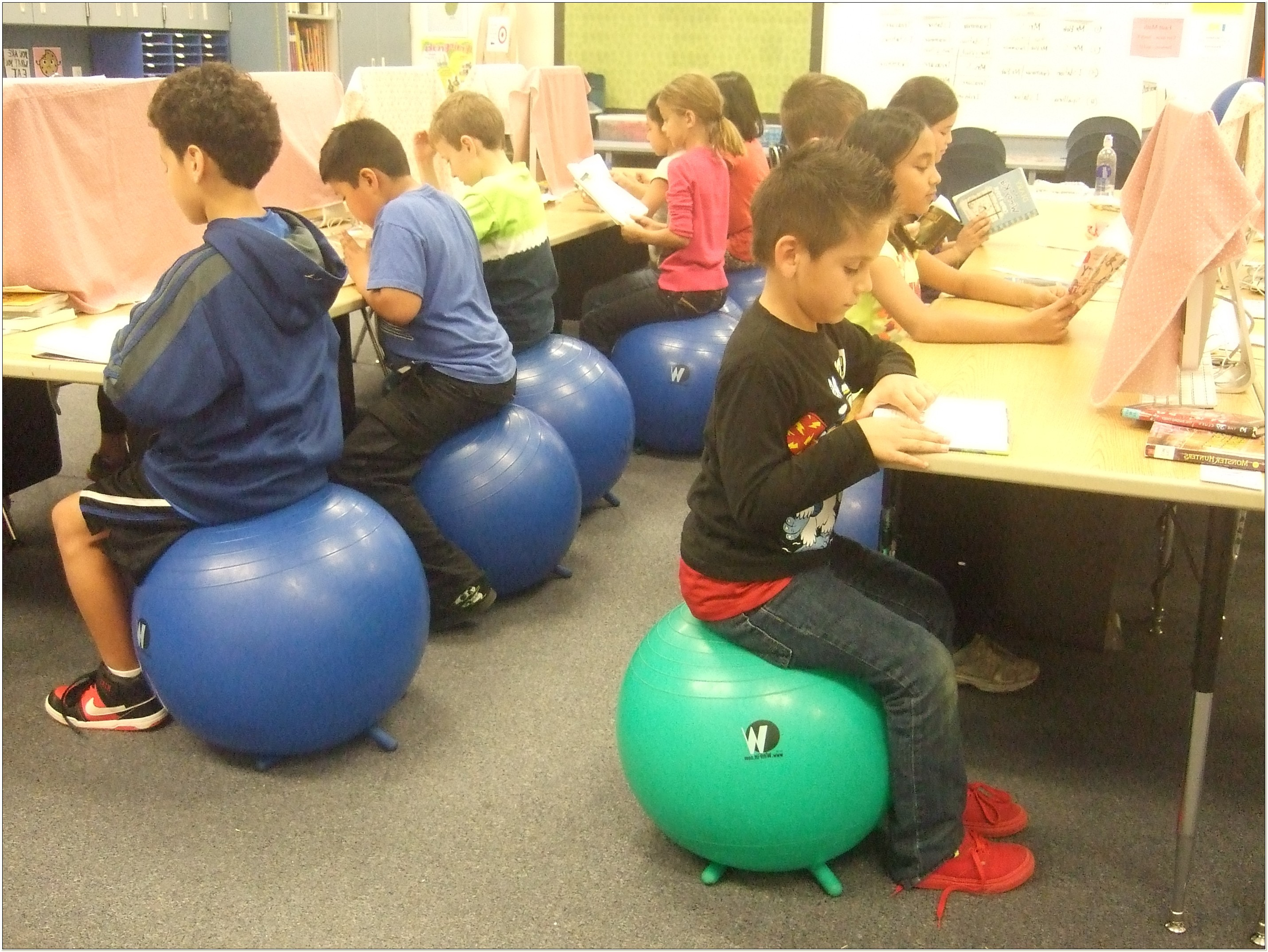 Balance Ball Chairs For Students