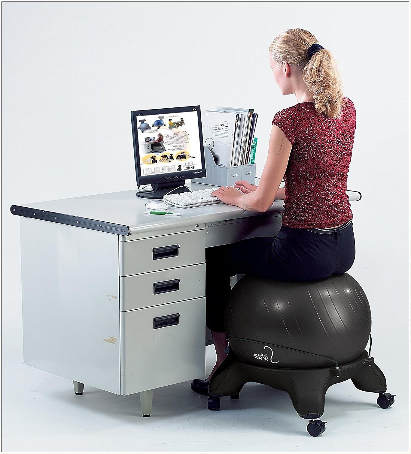 Balance Ball Fit Chair Base