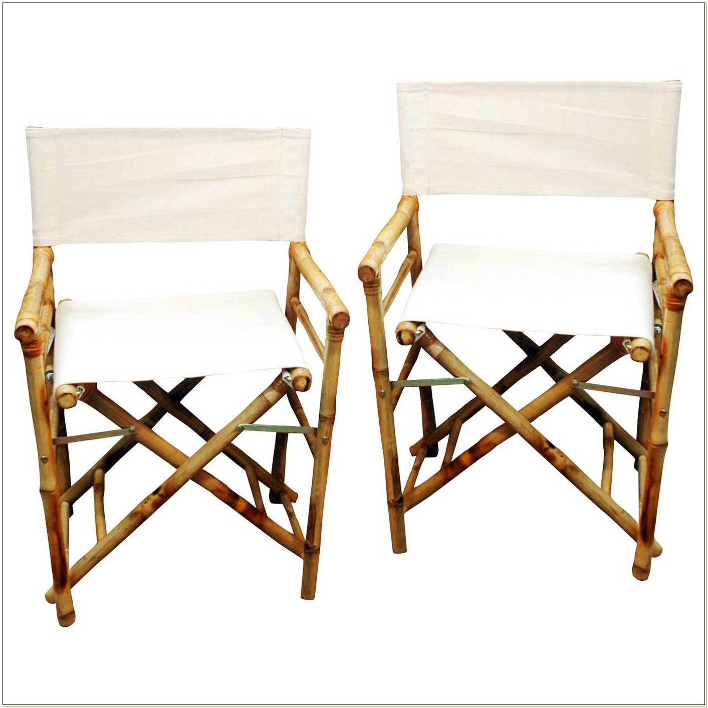Bamboo Directors Chair Replacement Canvas
