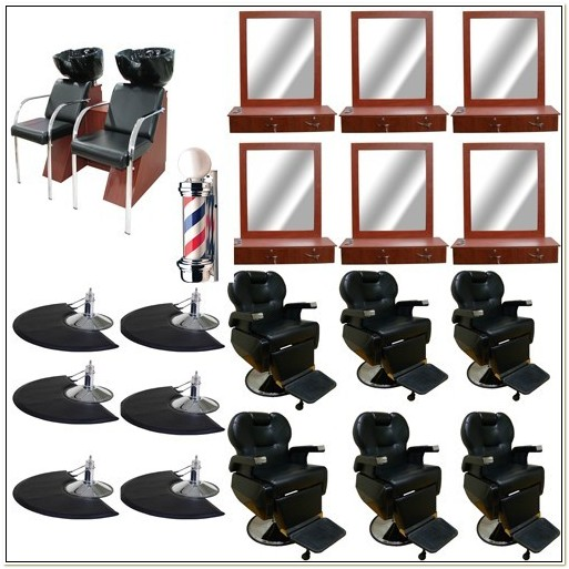 Barber Chairs And Stations