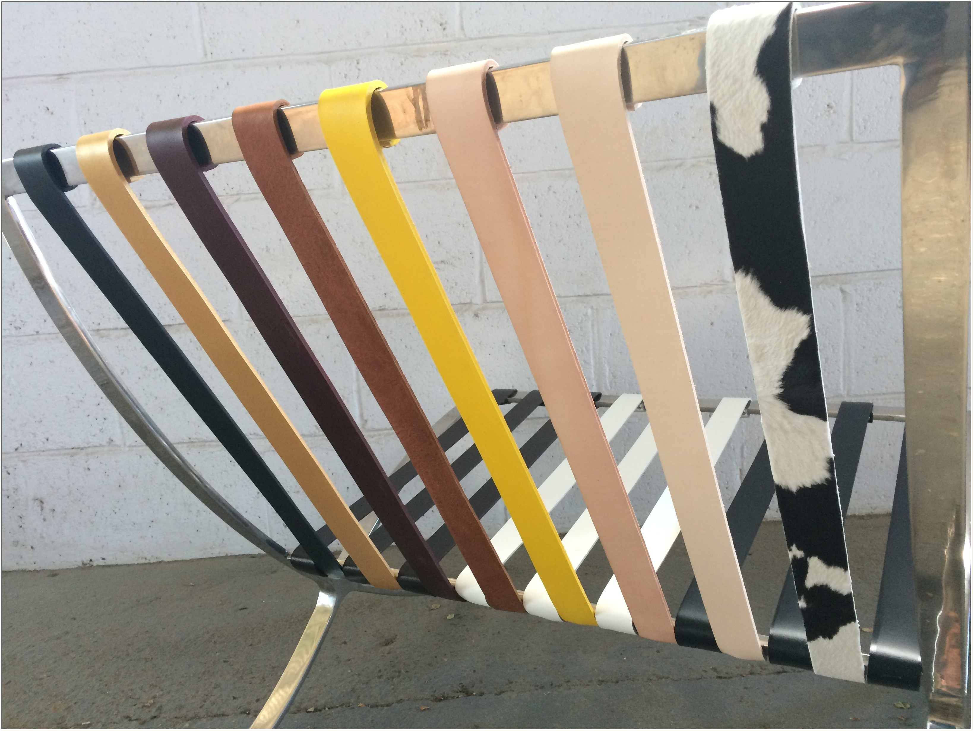 Barcelona Chair Replacement Straps And Cushions