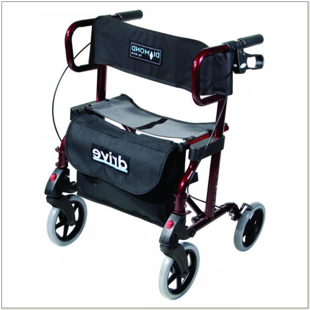 Bariatric Rollator Transport Chair Combo