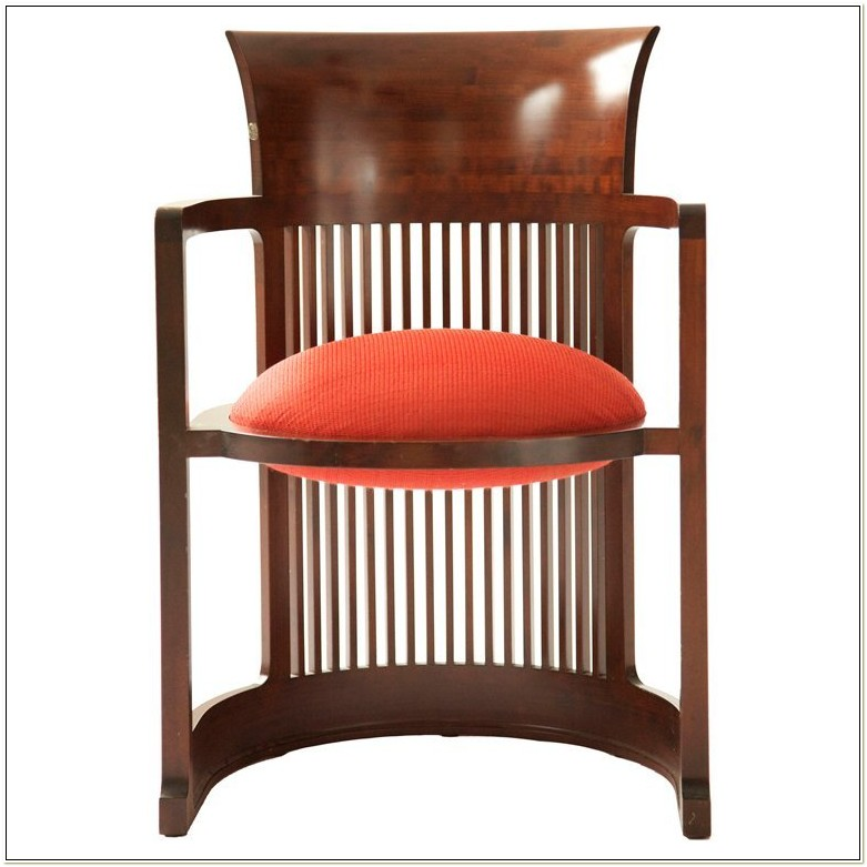 Barrel Chair Frank Lloyd Wright