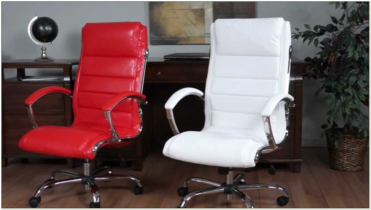 Bassett Ellis Executive Chair White