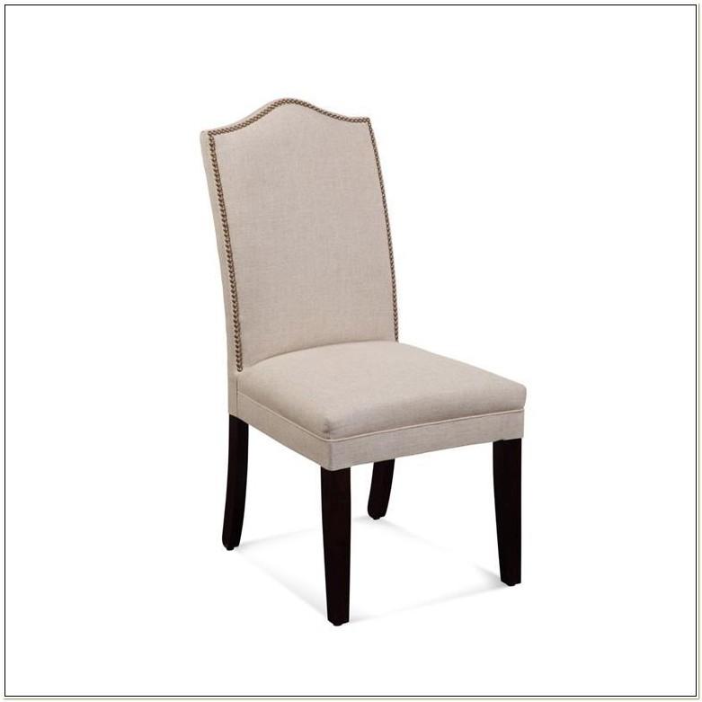 Bassett Mirror Camel Back Parsons Chair