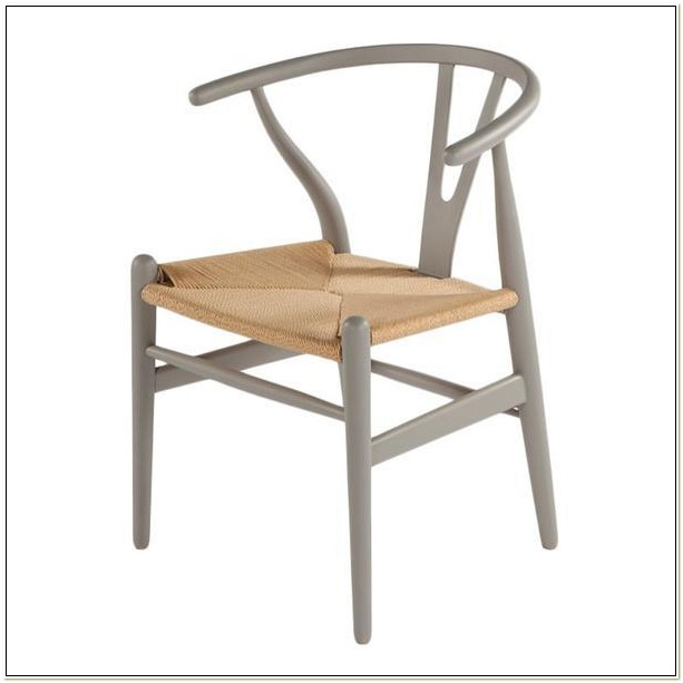 Baxton Studio Wishbone Chair Natural