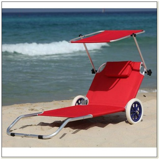 Beach Chair With Canopy And Wheels