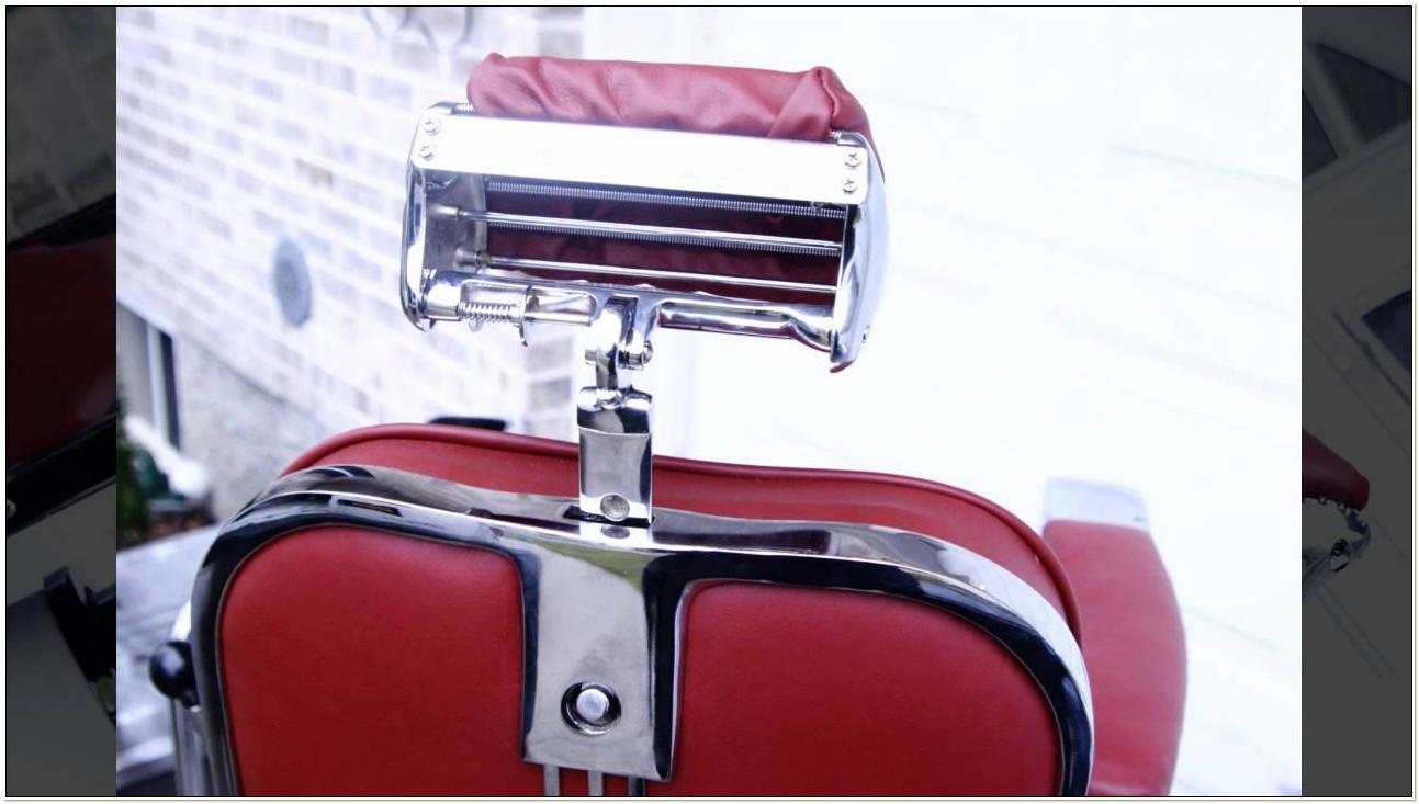 Belmont Barber Chair Headrest