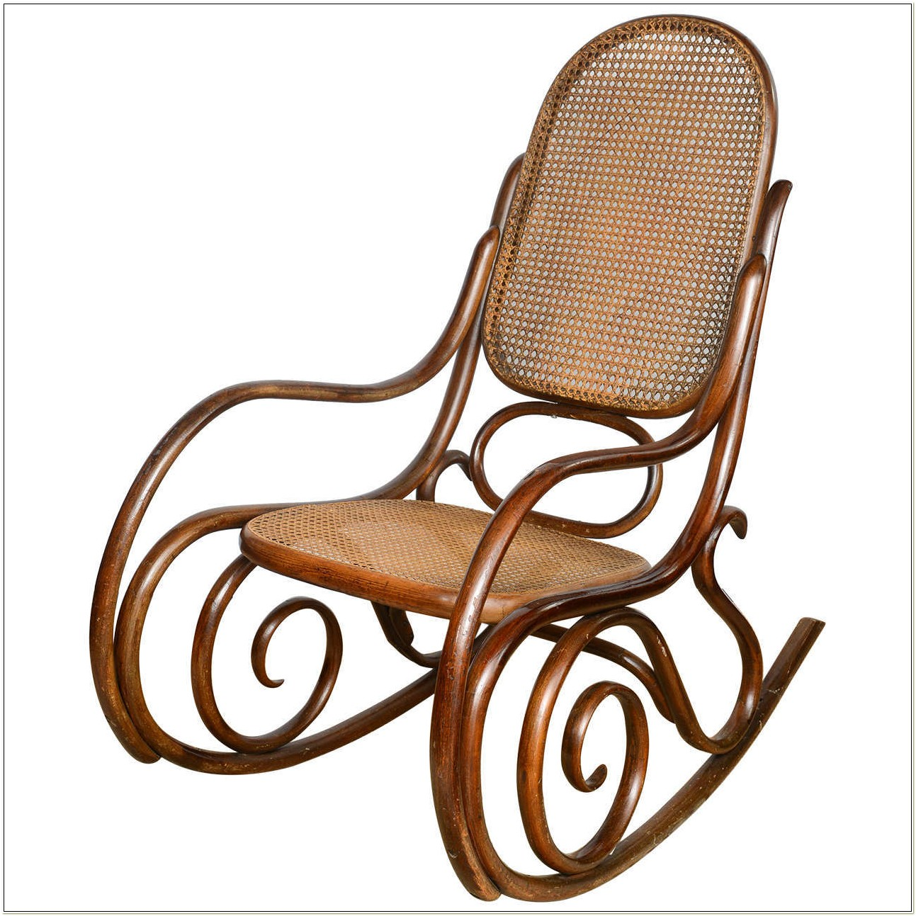 Bentwood Rocking Chair Vintage