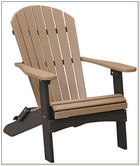 Berlin Gardens Folding Adirondack Chair