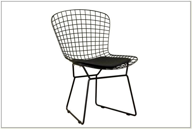 Bertoia Wire Diamond Side Chair