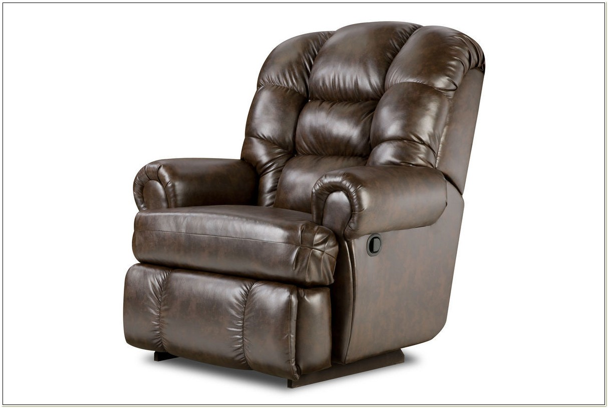 Big Man Leather Recliner Chair