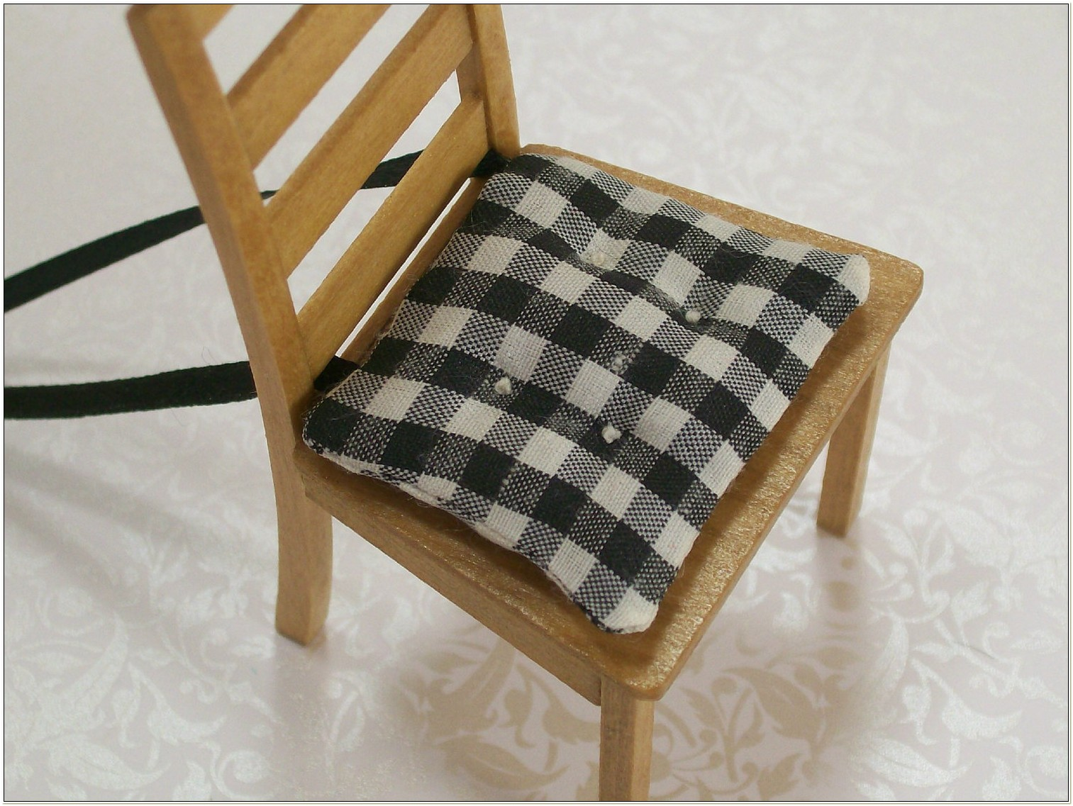 Black And White Dining Chair Pads