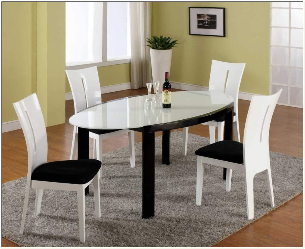 Black And White Dining Room Chair Cushions
