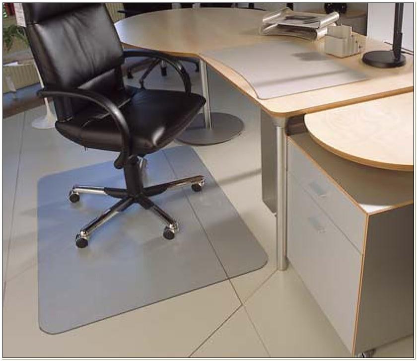 Black Chair Mats For Tile Floors