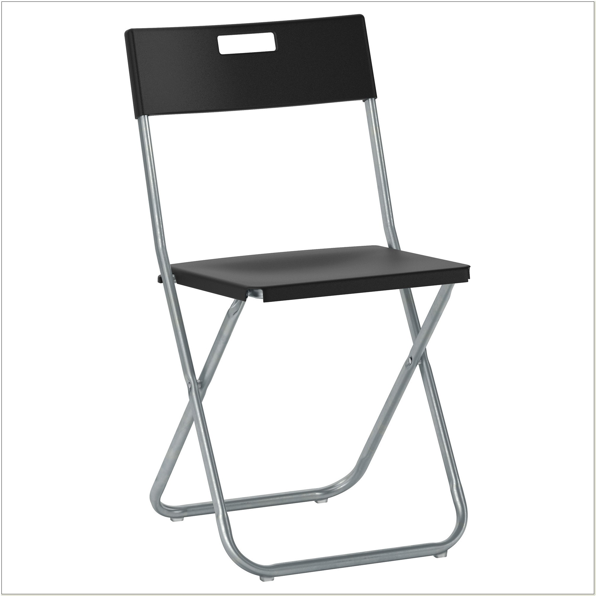 Black Padded Folding Chairs Target