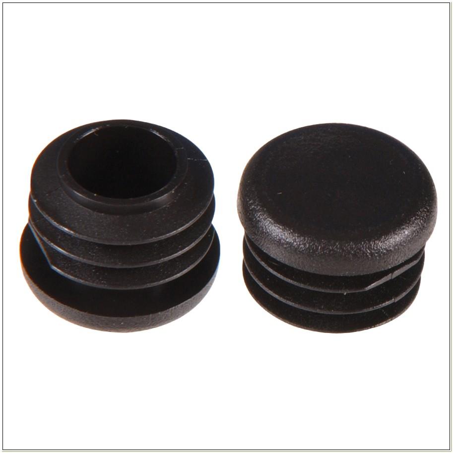 Black Plastic Chair Leg Tips