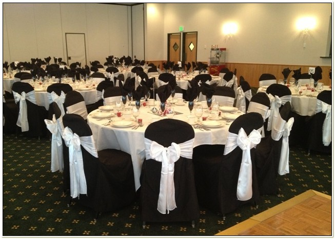 Black Sashes For Chair Covers