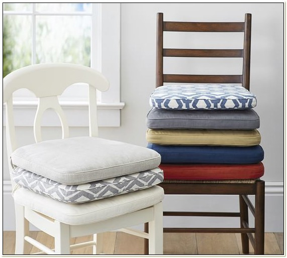 Blue And White Dining Chair Cushions