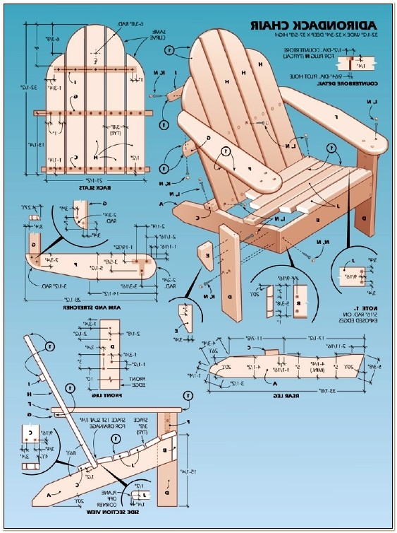 Blueprints For Adirondack Chairs