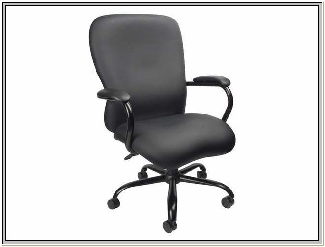 Boss Black Leatherplus Executive Chair Assembly