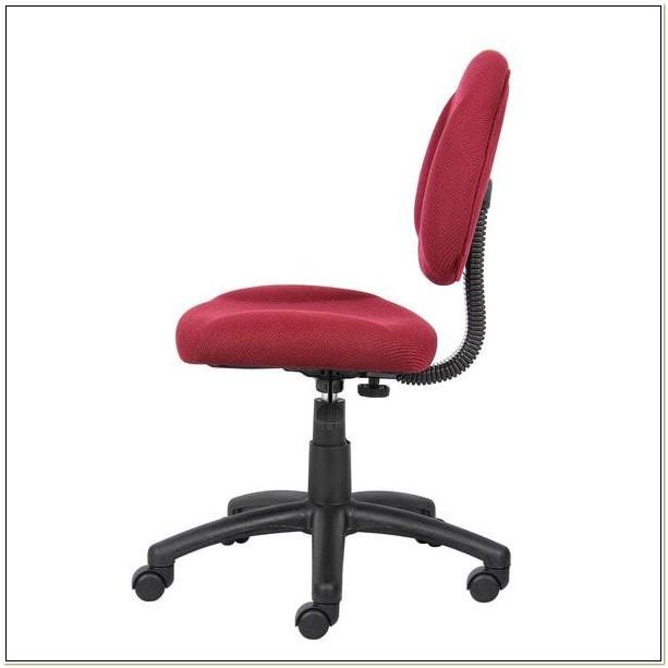 Boss Deluxe Posture Chair Burgundy