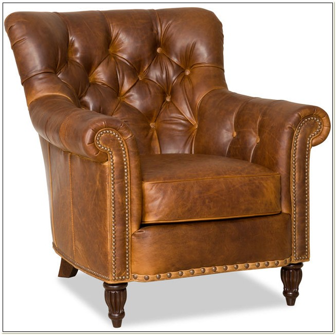 Bradington Young Leather Club Chairs