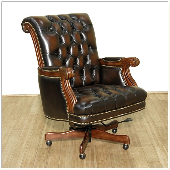 Bradington Young Leather Office Chair