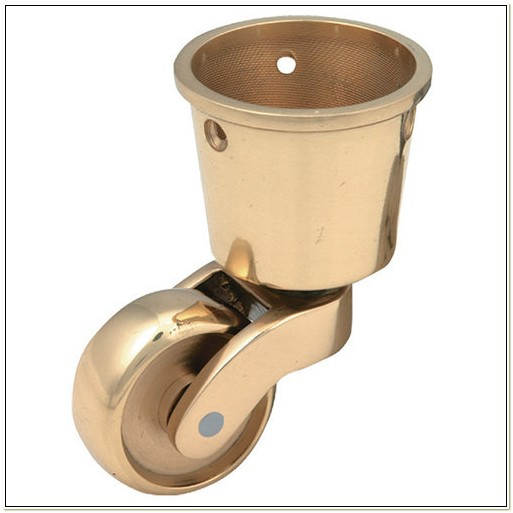 Brass Cup Casters For Chairs