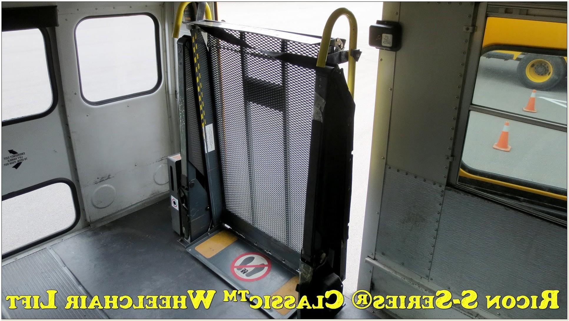 Braun Wheelchair Lift Manual