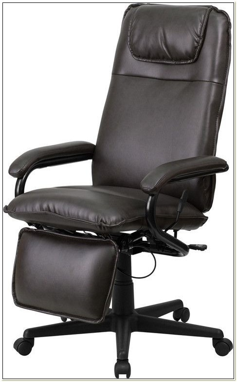 Brookstone Reclining Executive Desk Chair