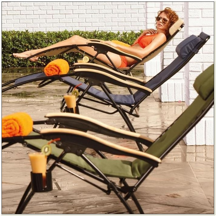 Brookstone Zero Gravity Lawn Chair