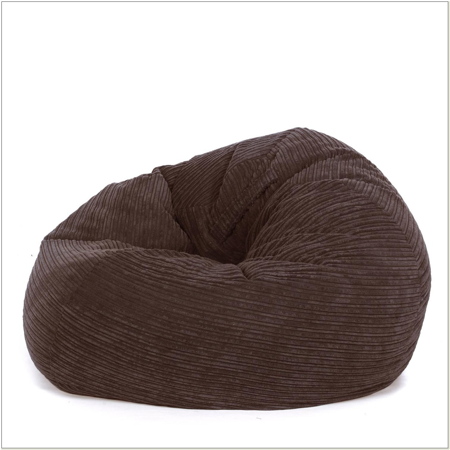 Brown Corduroy Bean Bag Chair