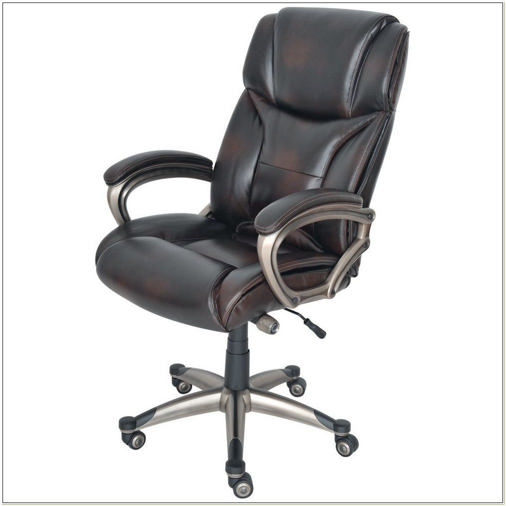 Brown Leather Office Chair Staples