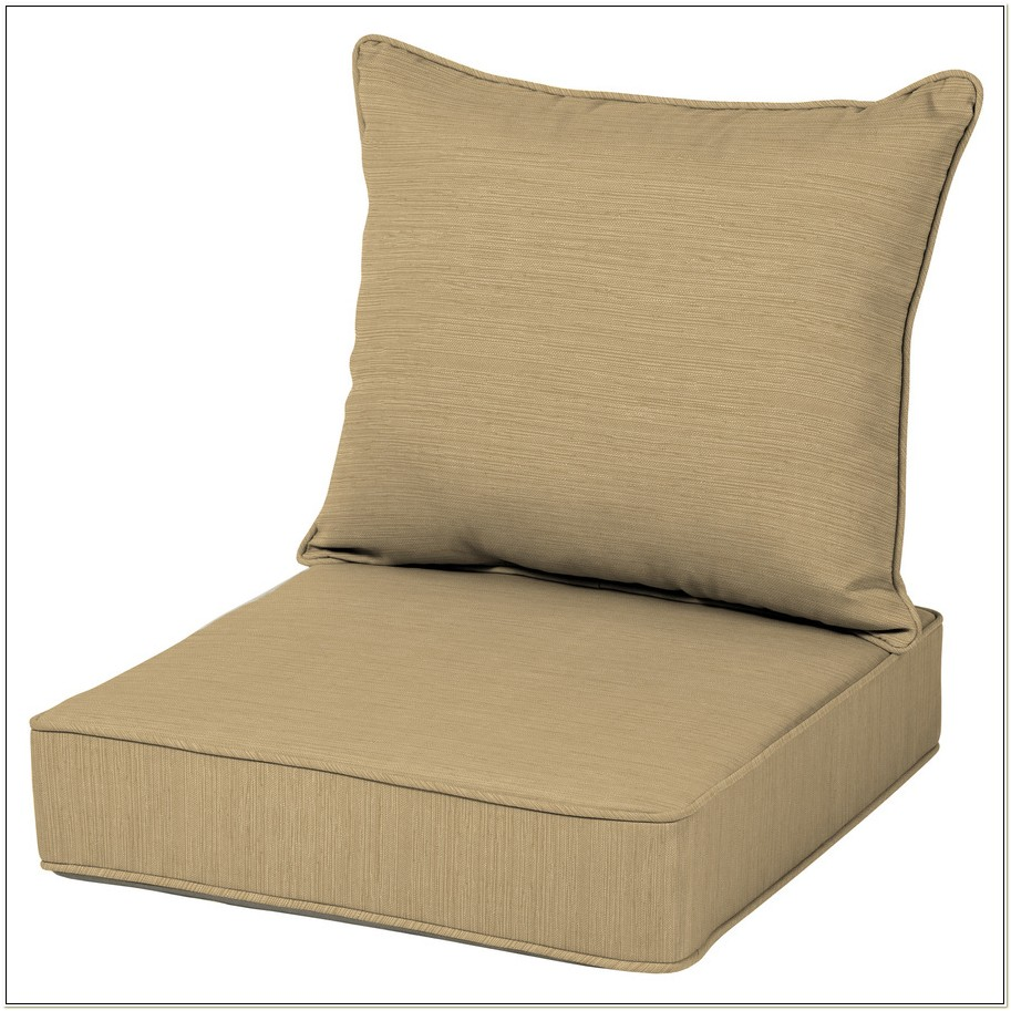 Brown Patio Chair Pads