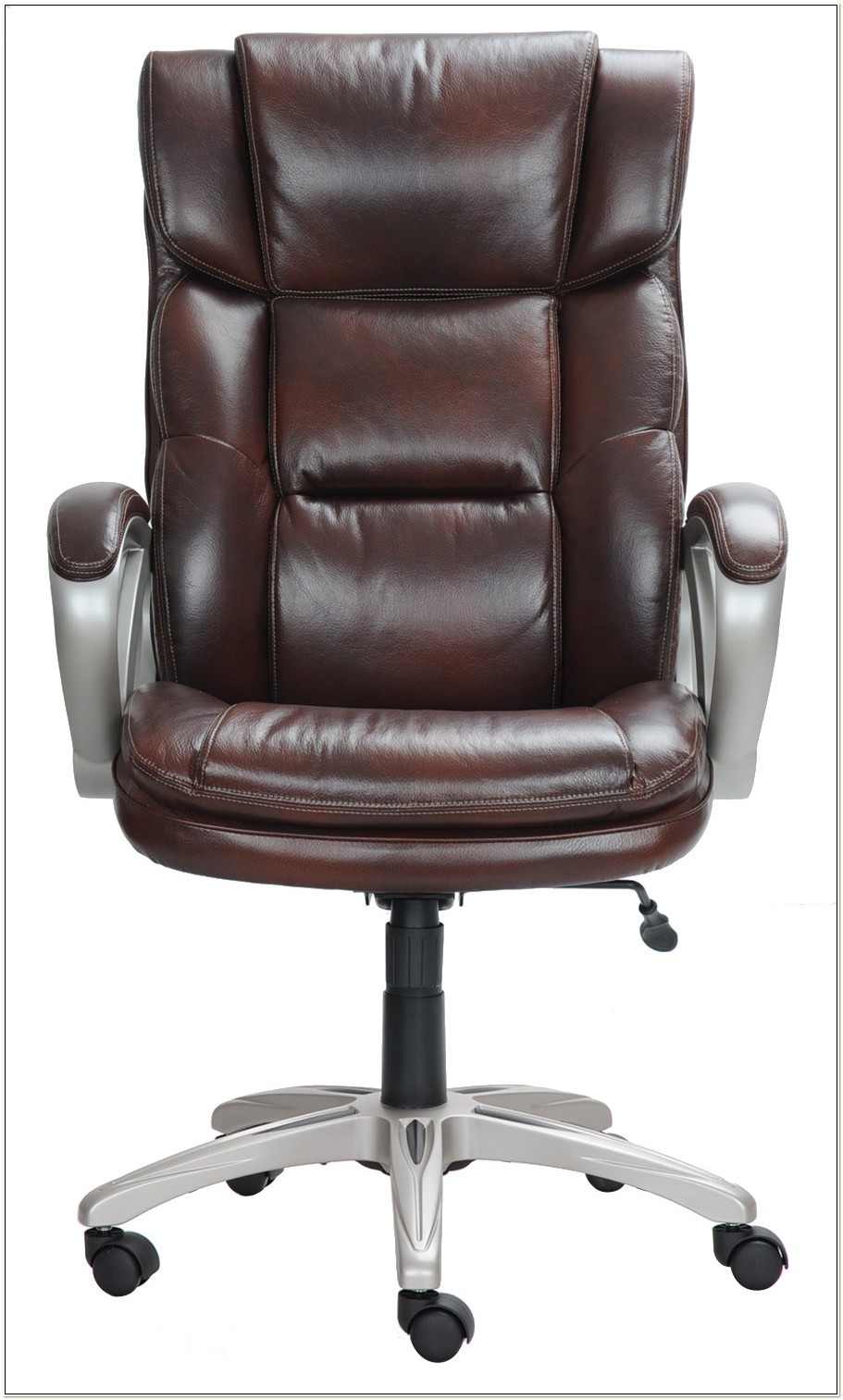 Broyhill Bonded Leather Executive Chair Model 41119