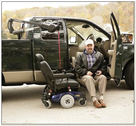 Bruno Wheelchair Lift For Truck