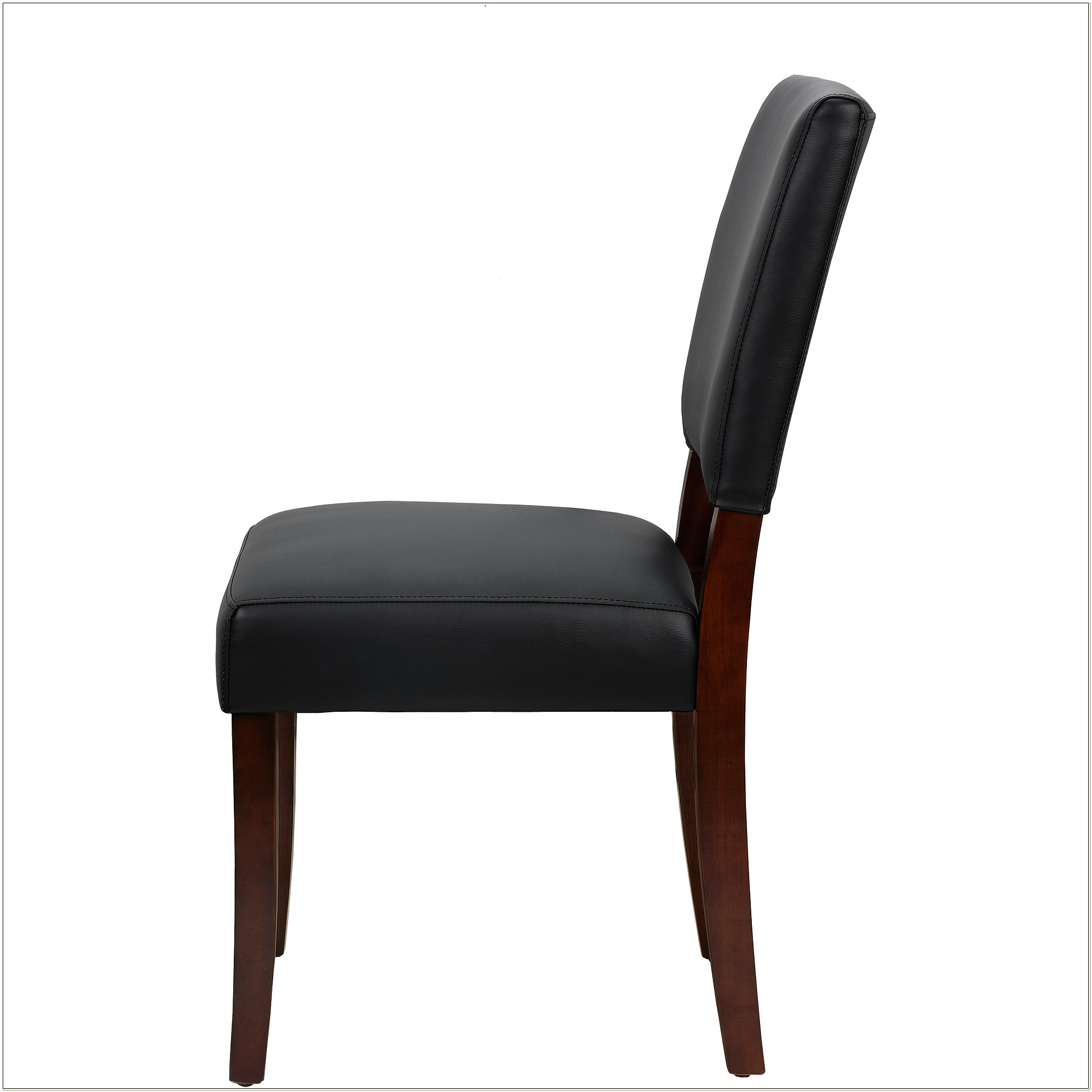 Burke Parsons Faux Leather Chair Black