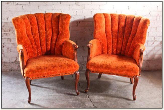 Burnt Orange Accent Chairs