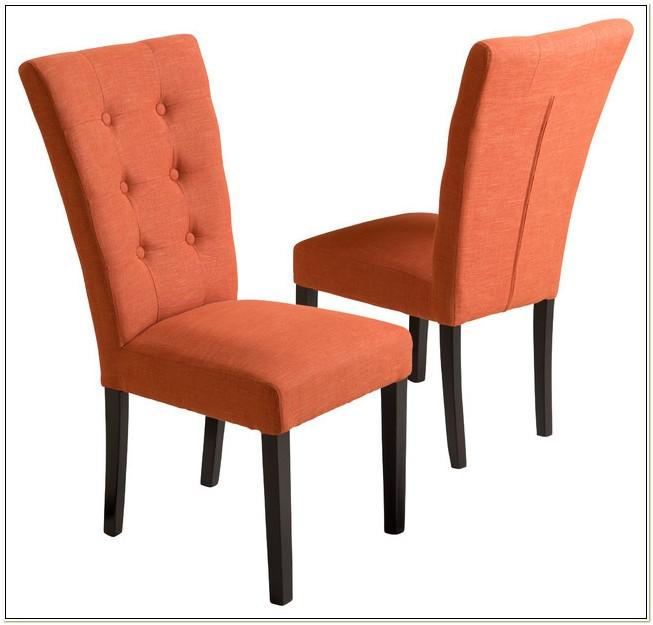 Burnt Orange Dining Chairs