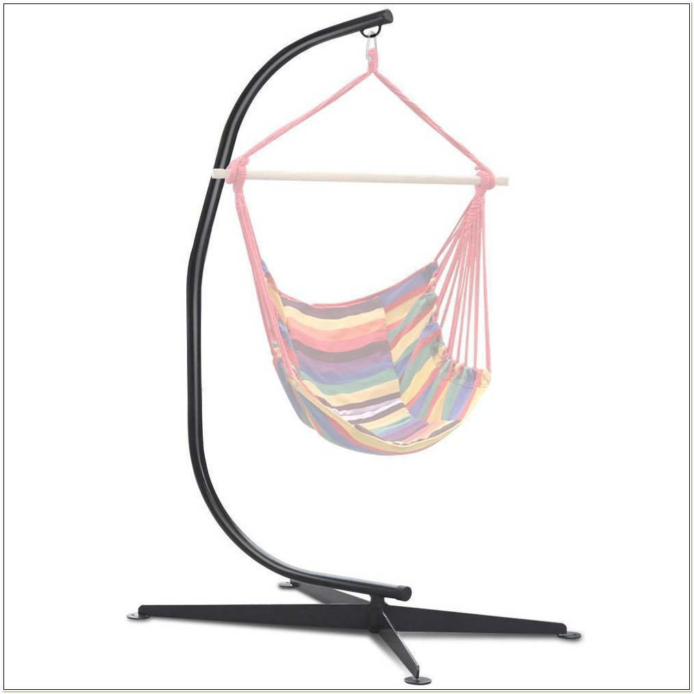C Steel Frame Hammock Swing Chair Stand