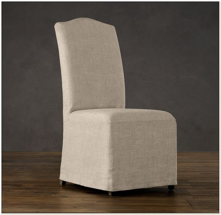 Camel Back Parsons Chair Slipcovers