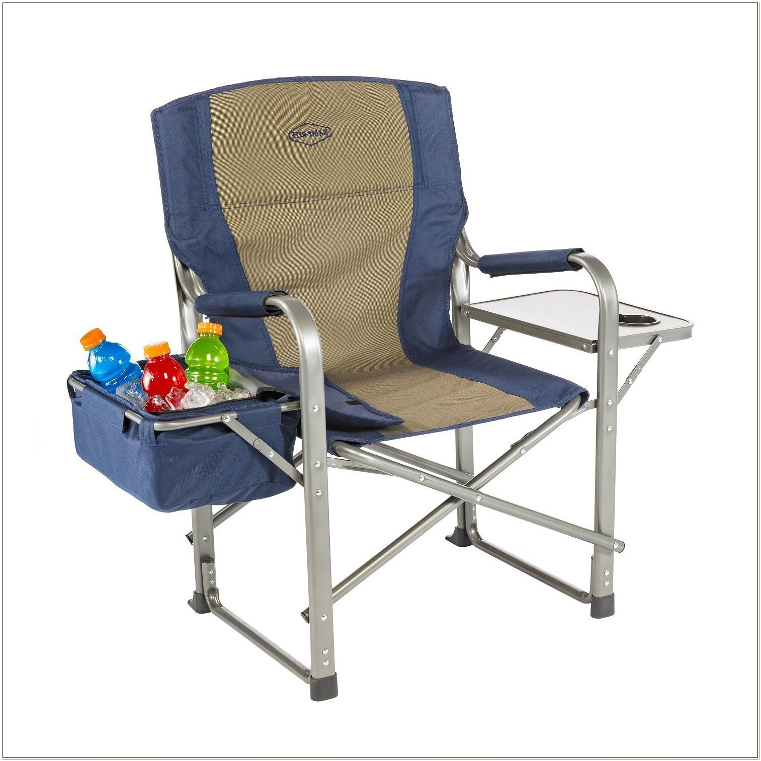 Camping Chairs With Attached Cooler