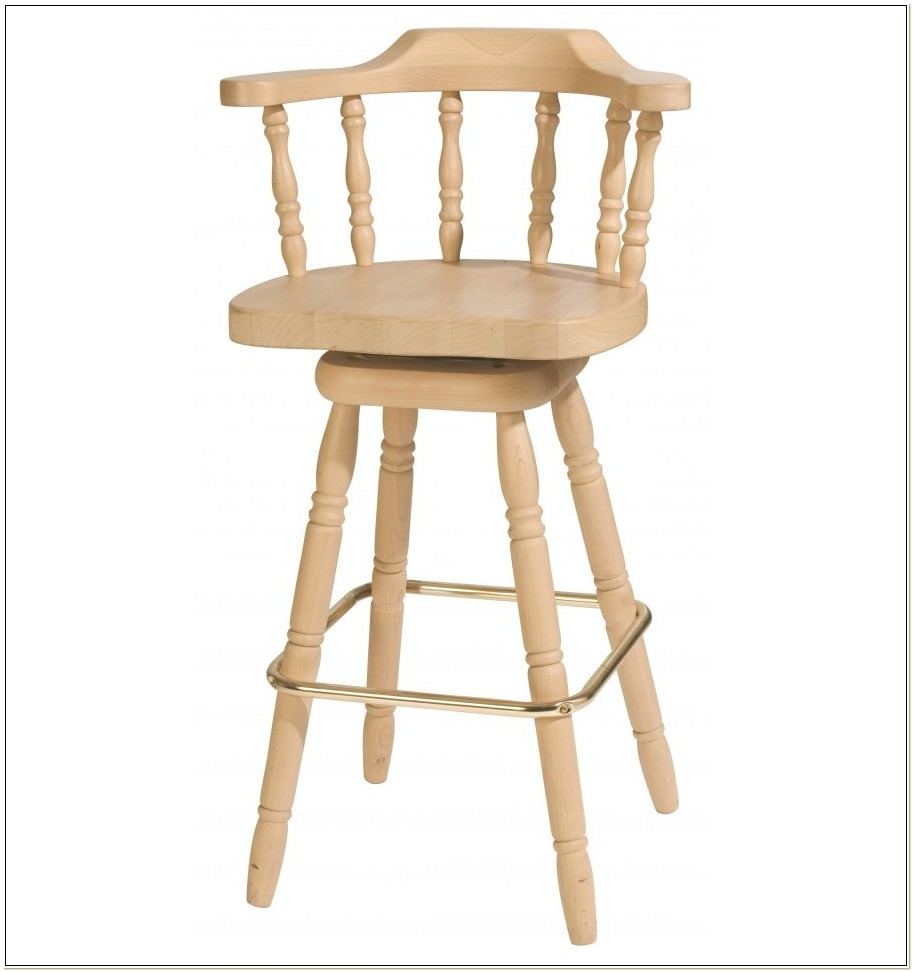Captain Chair Bar Stools