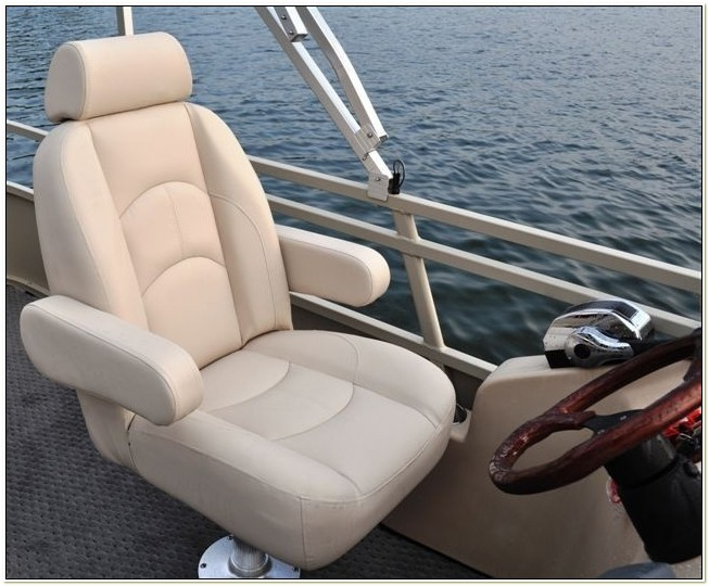 Captains Chair For Pontoon Boat