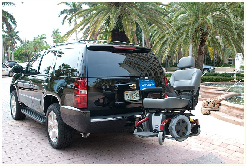 Car Lift For Jazzy Power Chair