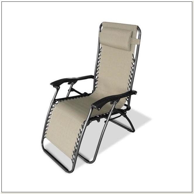 Caravan Canopy Beige Zero Gravity Chair