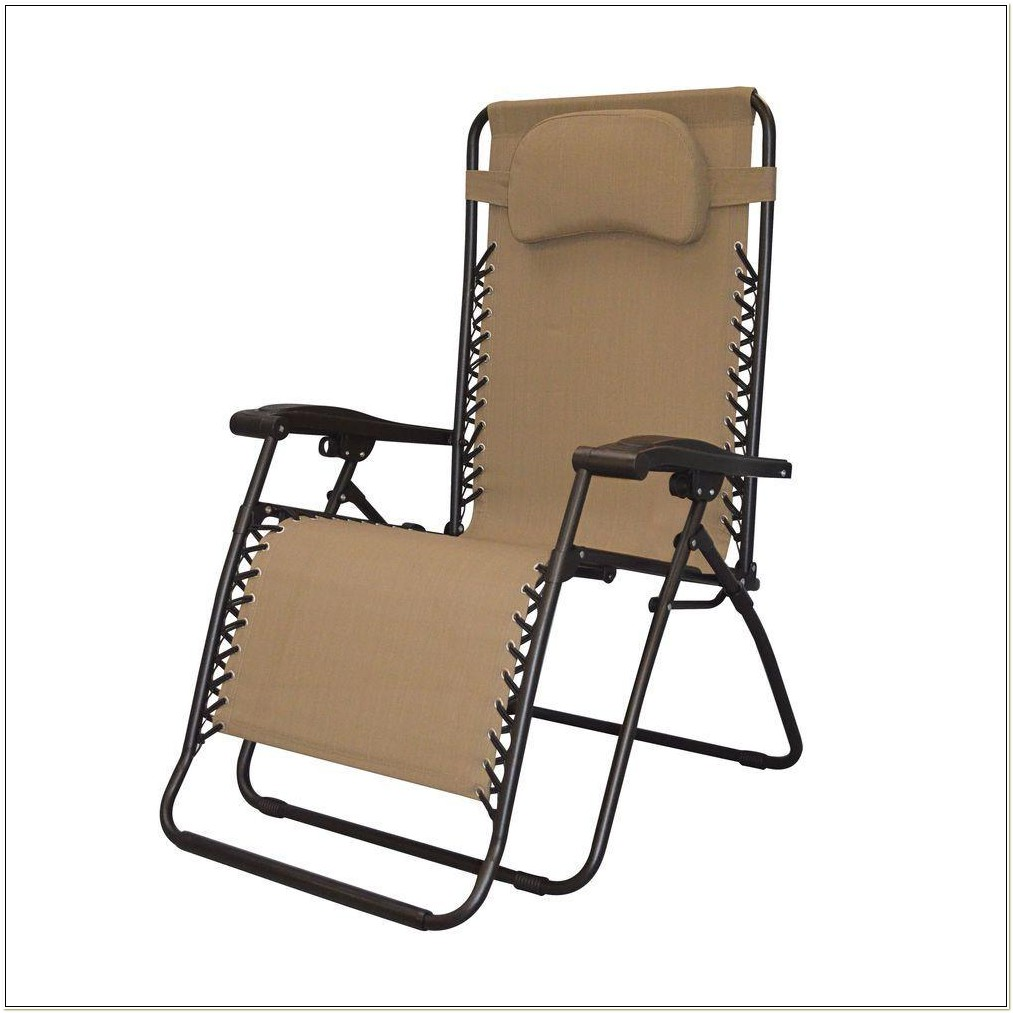 Caravan Canopy Oversize Zero Gravity Chair Brown